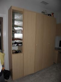 Murphy bed shown closed