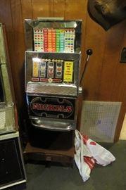 Slot machine.
