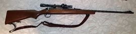 Remington Model 721 Rifle with Scope