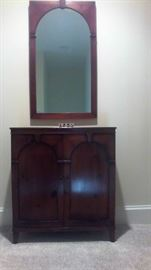 Hall console w/mirror