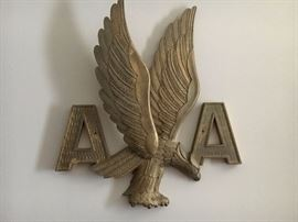 Wonderful Collector American Airline Plaque from the Tulsa International Airport