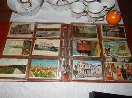 400+ old postcards