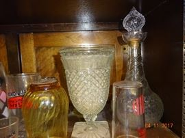 Beautiful vintage glassware