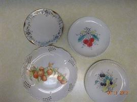 Vintage Hand-painted plates
