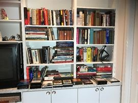 Books, books and more books including first editions