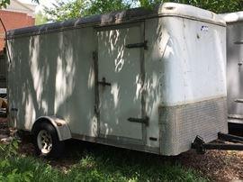 6x12 enclosed cargo trailer $1350