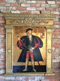 Renaissance man painting -