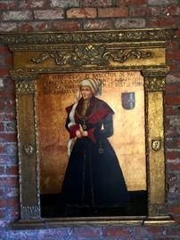 Renaisssnce woman painting