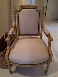 Part of 3 pc set Antique Arm chair