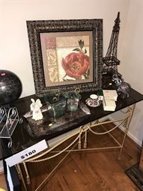 VARIOUS HOME ACCENTS AND DECOR'
