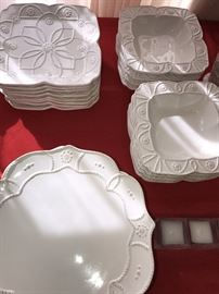 BEAUTIFUL SERVING DISHES AND CUPS BY ROSCHER