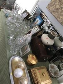 HOME DECOR'-WATERFORD CRYSTAL, LENOX, UNIQUE HOME ACCENTS