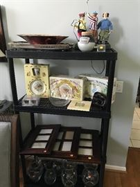 HOME DECOR'-PICTURE FRAMES-VASES, BOWLS, WEDGWOOD AND ROYAL DOULTON NURSERY SET