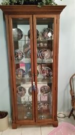 Big 4 Shelf Lighted Curio Cabinet