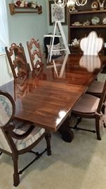 Absolutely Beautiful Spanish Revival Table and Chairs