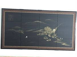 4 Panel silk piece