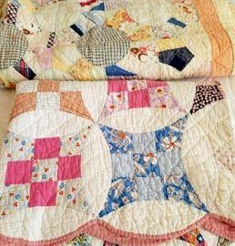 Vintage Scrappy Quilt