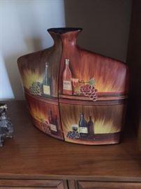 Very cute wine jug