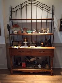 Thomasville Baker's Rack, very heavy with iron and wood with appraisal
