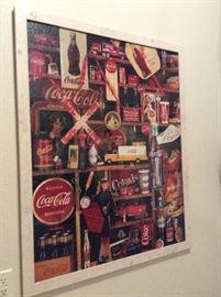 Coca Cola picture puzzle