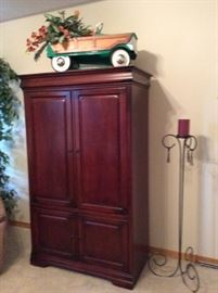 Entertainment Center, Vintage Pedal Car