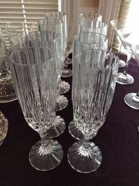 I am in love with these champagne flutes.