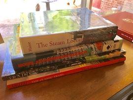 Train Coffee Table Books