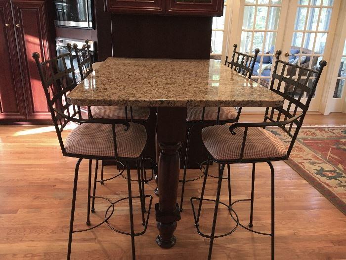 (4) Charleston Forge Bar/Game room stools