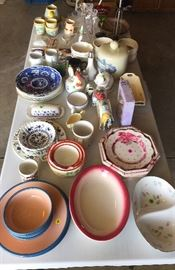 Some of many china pieces