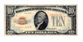 1928 $10 Dollar Gold Certificate