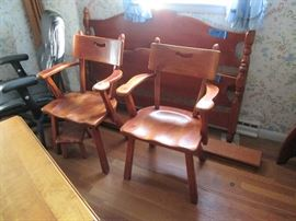 Cushman Maple Arm Chairs