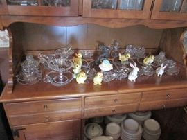 Candlewick Glass Collection, Easter Bunny Collection
