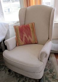 1 of 2 Wing Chairs
