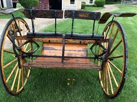 Meadowbrook Horse Driving Riding Cart