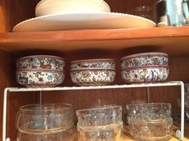 Some of the dishware