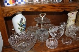 A few of the things in the hutch.  They are what they are.  Priced to sell, I promise.