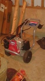 pressure washer, also has a extension