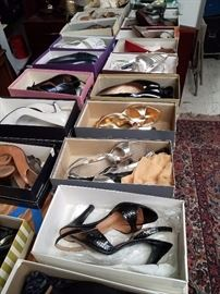 Ladies shoes - mostly around size 7