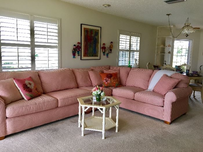 Sectional with sleeper