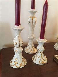 Lenox Candle holders