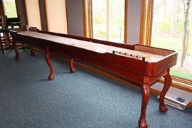 14 foot Berner Billiards Shuffleboard
