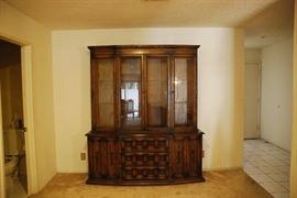 American of Martinsville hutch and buffet $100; SOLD