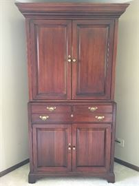 2 pc. Cherry Entmt.TV Armoire - Buy Now $275.00 made by Lexington  Bob Timberlake