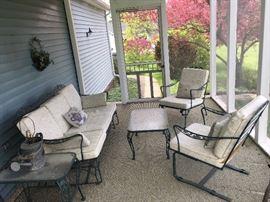 5pc Patio furniture set