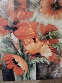 POPPY BOUQUET BY L H REYNOLDS