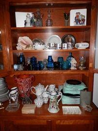 Several sets of china