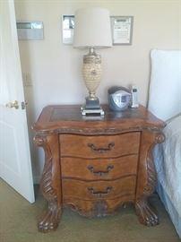 Stunning Michael Amini Aico nightstand