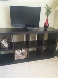 Black organization shelf