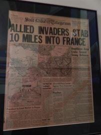 WWII invasion.