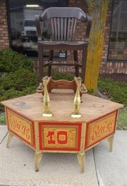 Vintage Shoe Shine Station